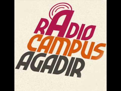 Hafdi en live sur Radio Campus Agadir