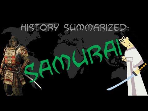 History Summarized: Samurai