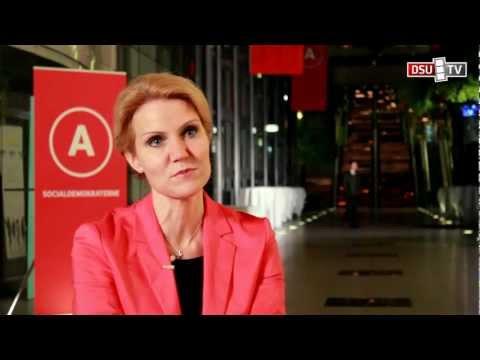 S-kongres 2011: Interview med statsminister Helle Thorning-Schmidt