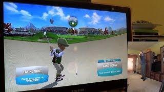 Kinect móka 05 - Golf, Darts