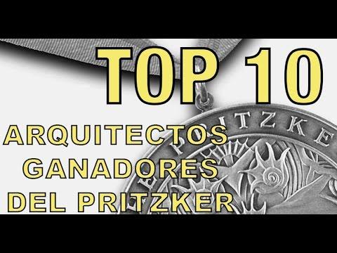 TOP 10 de arquitectos ganadores del Pritzker