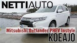 Koeajo: Mitsubishi Outlander PHEV Instyle