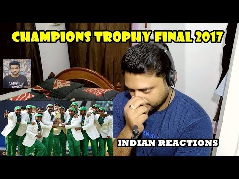 Indian Reacts to  CHAMPIONS TROPHY FINAL 2017 | AWESAMO SPEAKS | Indian Reactions