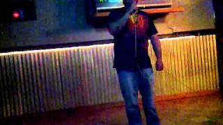 CLEM KARAOKE. SINGING CURTIS LOWE 10-21-11@ SPORTS PIT.3GP