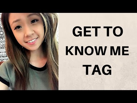 GET TO KNOW ME TAG | JENNY LEE