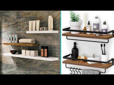 Ingenious Bathroom Wall Storage Design Ideas | Interior Decor Designs