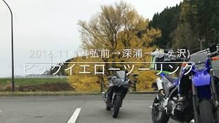 青森県深浦町にある日本一の大イチョウを見に行くツーリング動画です。