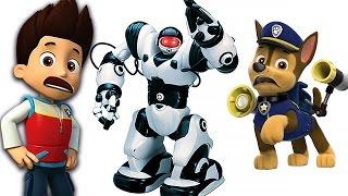 Щенячий Патруль новые серии Робот Трансформер и Ромео Мультик Герои в Масках Игрушки PAW Patrol