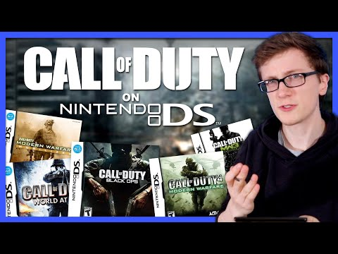 Call Of Duty On Nintendo DS - Scott The Woz