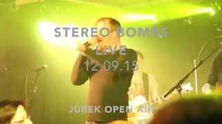 Stereo Bombs - Jübek Open Air Konzertflyer
