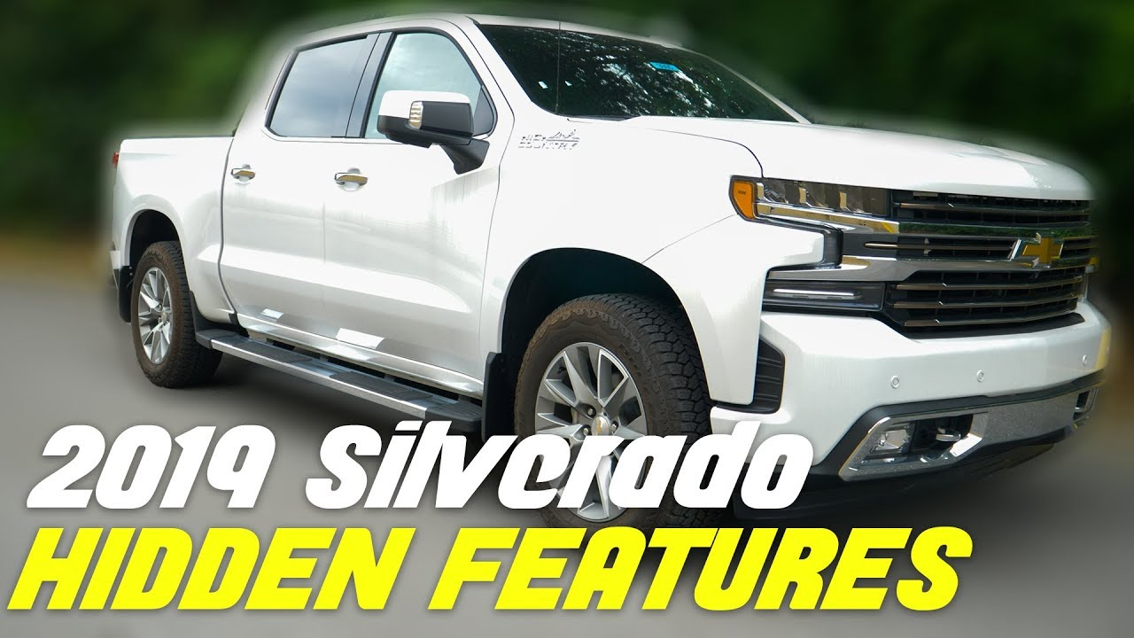 2019 Chevy Silverado Top 5 Hidden Features Did You Know These