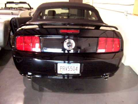 2009 ford mustang convertible gt premium start up and running for sale now youtube. Black Bedroom Furniture Sets. Home Design Ideas