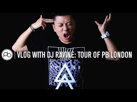 Vlog with DJ Ravine: Tour of Point Blank London