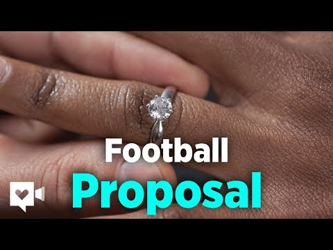 Soccer coach proposes with assist of his gamers