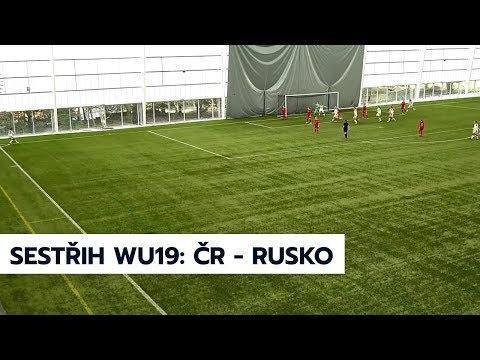 WU19: Česká republika - Rusko 7:0 (3:0)