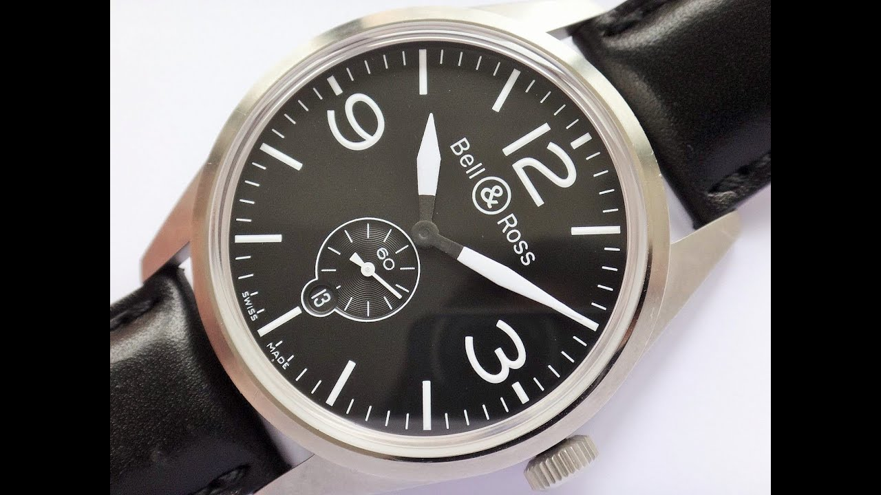 Bell & Ross Vintage Original Stainless Steel Automatic