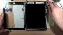 Tutoriel changer la vitre cassée d'un Ipad 2 démontage + remontage