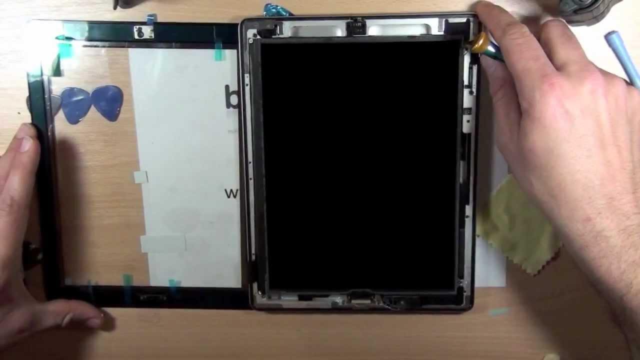 tutoriel changer la vitre cass e d 39 un ipad 2 d montage remontage youtube. Black Bedroom Furniture Sets. Home Design Ideas