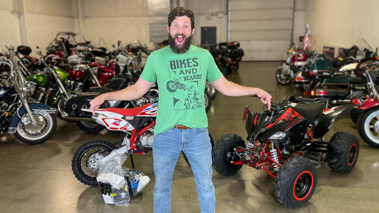 Giving away motorcycles on Wednesday at 5PM