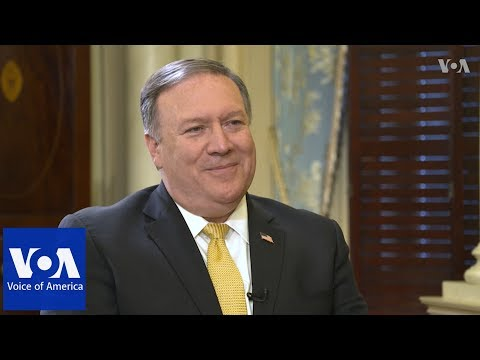VOA Persian Interview: Sec of State Mike Pompeo
