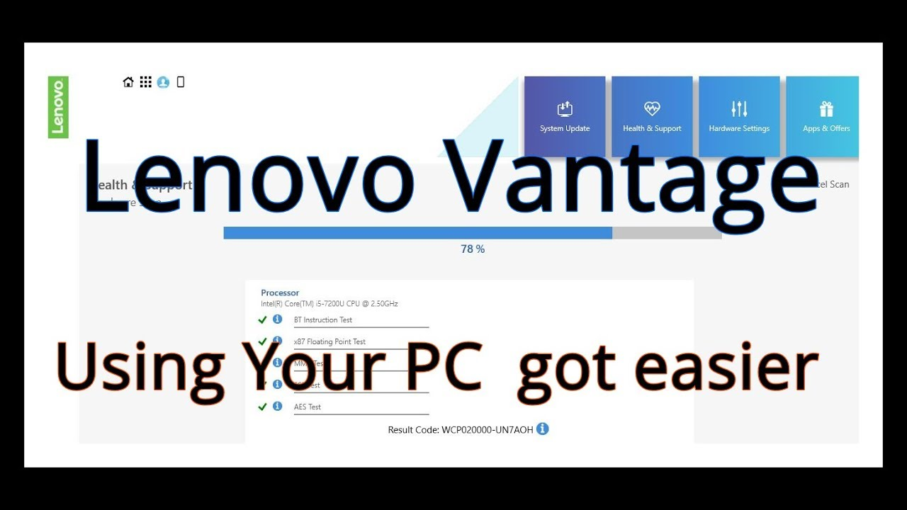 lenovo vantage download without store