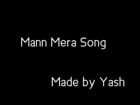 Mann Mera karaoke with lyrics