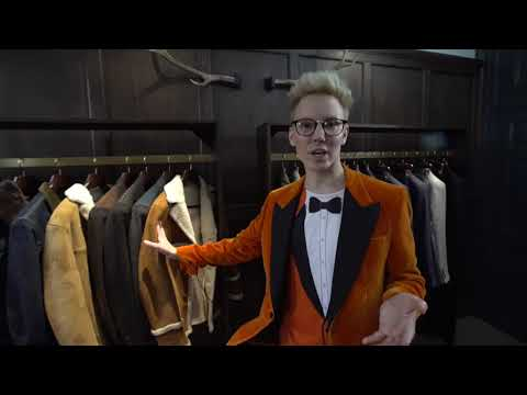 Visiting the Kingsman atelier in London
