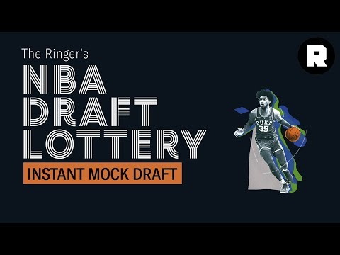Instant Mock Draft   NBA Draft Lottery   The Ringer