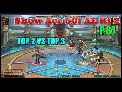 Bình Luận Game Vua Hải Tặc Show Acc 501 AE Kì 2 Part 87 Cuộc Đối Đầu Giữa Top 2 & Top 3 :)))