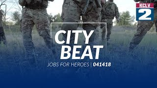 City Beat - JOBS FOR HEROES