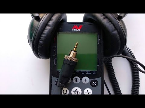 Minelab Equinox 600. Подводный разъем для наушников своими руками!
