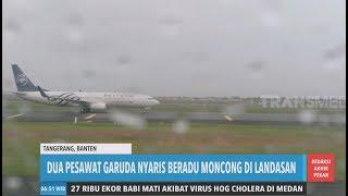Dua Pesawat Garuda Nyaris Beradu Moncong  Redaksi Pagi 141219