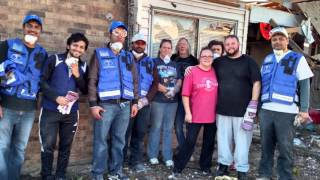 Humanity First Dallas,TX Tornado Relief