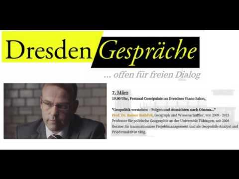Dresden Gespräche – Prof. Dr. Rainer Rothfuß