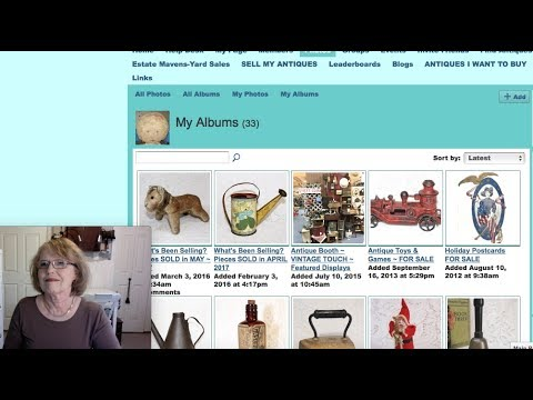 Antique Sales in my Antique Booth & Online May 2017