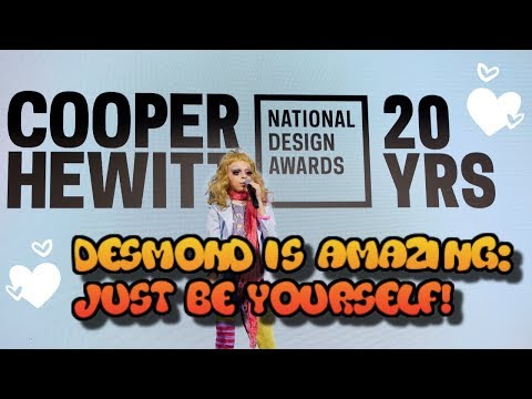 desmond-is-amazing:-message-about-being-yourself-at-cooper-hewitt-design-career-fair