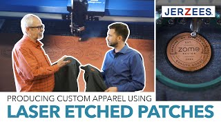 S2E6: Custom lasered patch with felt backing