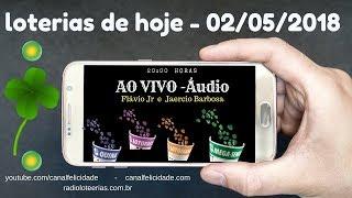 Resultados 02-05- 2018 Quina-4668 - Lotofacil 1657 - Lotomania 1862 - Mega Sena 2036
