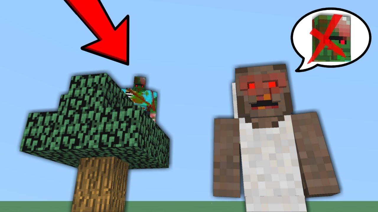 GRANNY ZOMBİ KRALI ARIYOR (ÇOK SİNİRLENDİ) 😱 - Minecraft