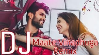Maate Vinadhuga Full Dance Remix Dj Tinku