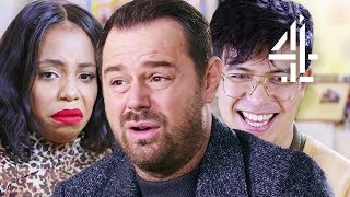Danny Dyer, Phil Wang & More STUNNED by Sex Ed Clip!! | Let's Talk About Sex