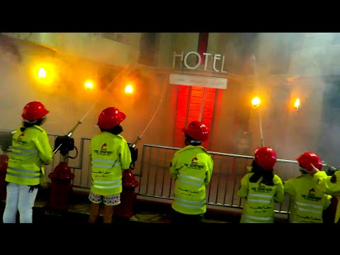 FIRE IN THE CITY  ( OUR GUESTS IN KidZania )