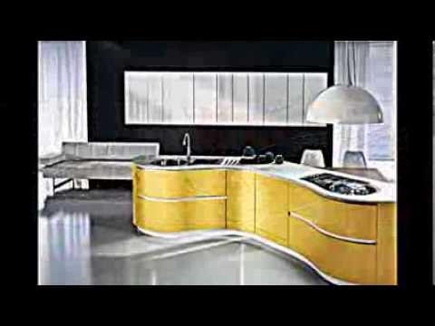 Moderne Küchen Mit Grifflosen Fronten    Dune Kollektion Von Pedini    YouTube