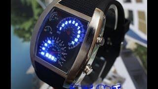 Обзор электронных часов из Китая, с интересным дизайном