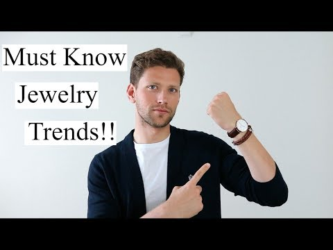 Mens Jewelry Trends | How To Wear Jewelry For Men