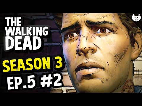 The Walking Dead Game Season 3 Episode 5 - NOW DAVID'S FATE - (Walking Dead Gameplay Ep5 Part 2)
