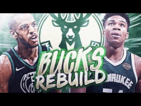 IMMEDIATE TRADES! MILWAUKEE BUCKS REBUILD! NBA 2K19