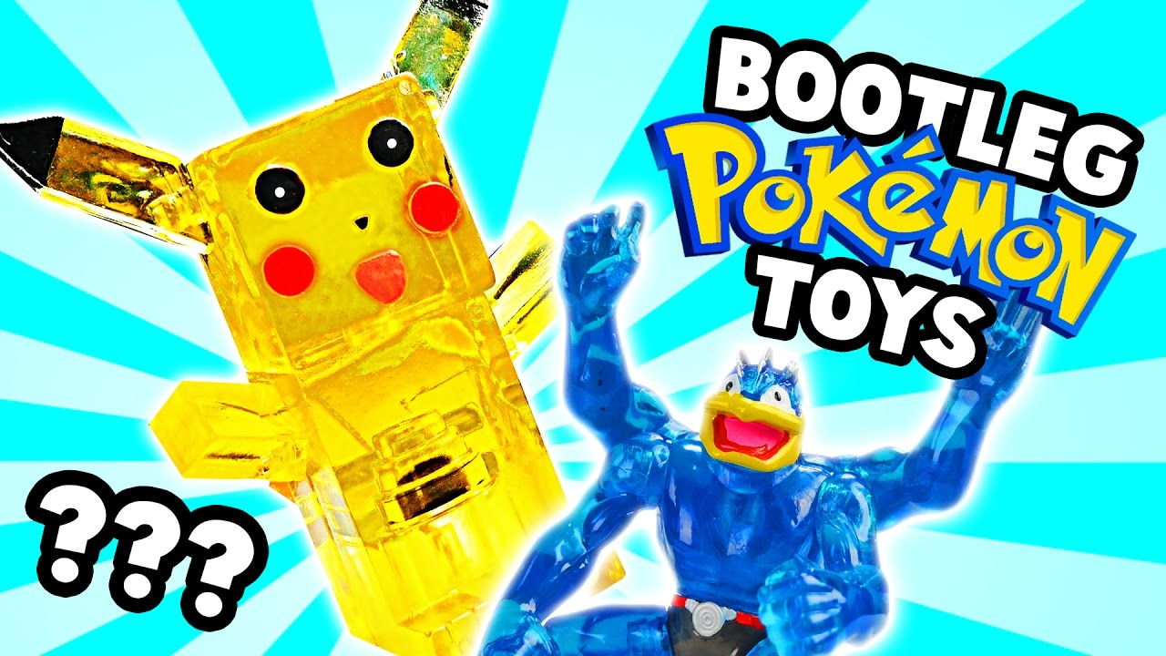 Pokemon Toys Right : Bootleg pokemon toys youtube