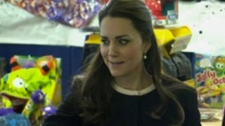 Duchess of Cambridge rolls her eyes when told to