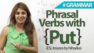 English Grammar Lesson  - Phrasal verbs with